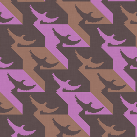 hounds_tooth5 fabric by sary on Spoonflower - custom fabric