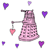 Doctor Who Inspired Dalek Hearts for Valentine's Day