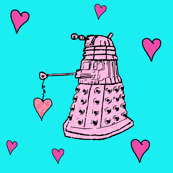 Doctor Who Inspired Daleks & Hearts
