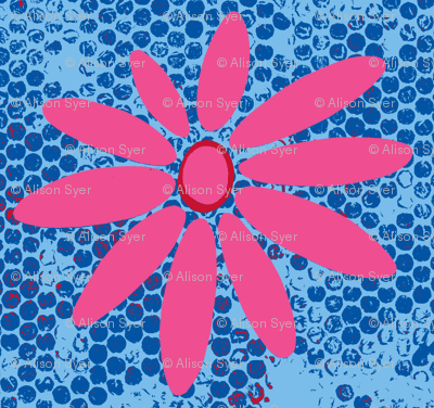 Daisy - Pink and Blue Spotted