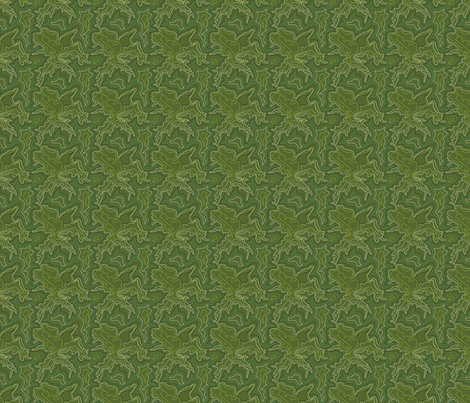 Oceans of Green fabric by michelerosenboom on Spoonflower - custom fabric