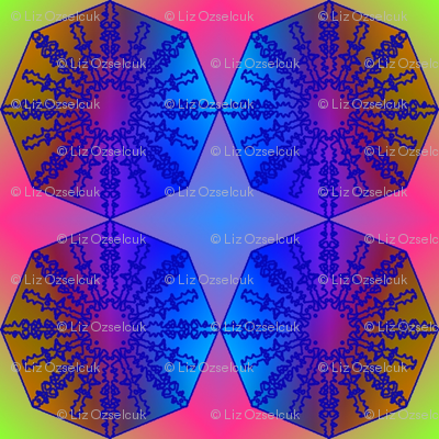 mini glow octagons