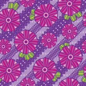 Boho Blossoms (Purple)