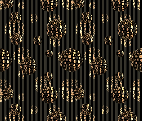 Classy Space Balls fabric by whimzwhirled on Spoonflower - custom fabric