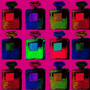 large pop art perfume bottles 4