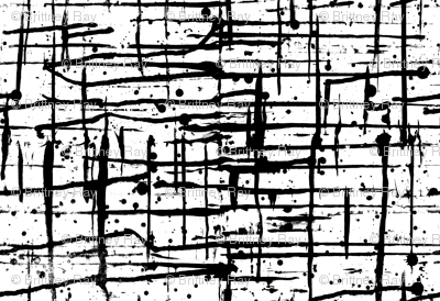 Ink Splatter II. Black and White