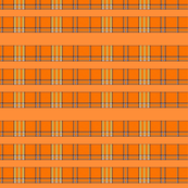 ORANGE GROVE TARTAN STRIPES