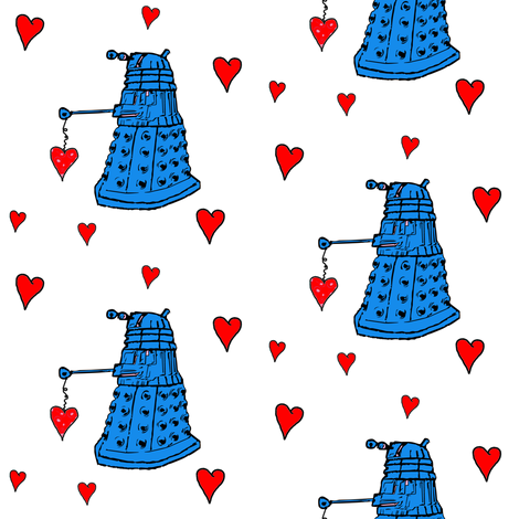Doctor Who Inspired Daleks and Hearts