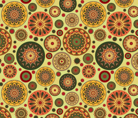 sp_wheels fabric by elarnia on Spoonflower - custom fabric