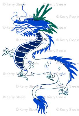 dragon deux-porcelain