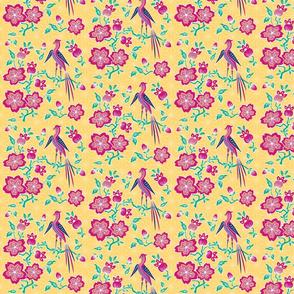 Sakura Floral Batik Small Print