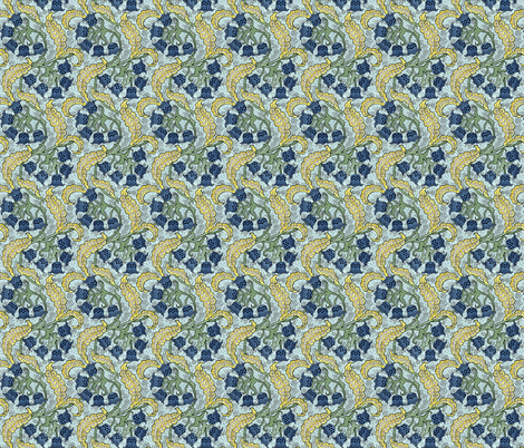 Bluebells fabric by flyingfish on Spoonflower - custom fabric