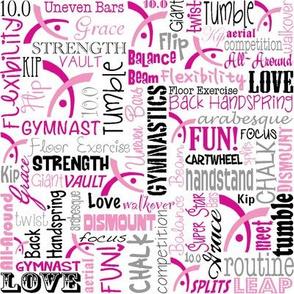 Gymnastics Fabric Pink