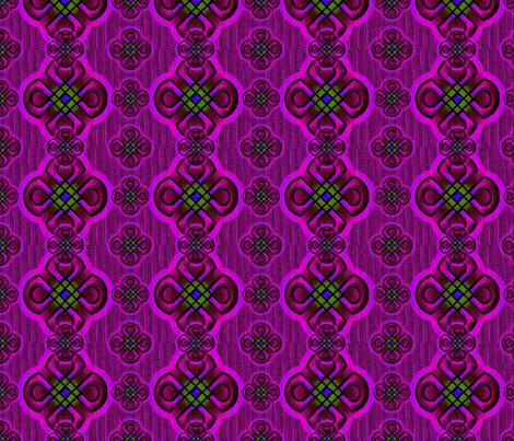rangoli2 purple fabric by y-knot_designs on Spoonflower - custom fabric