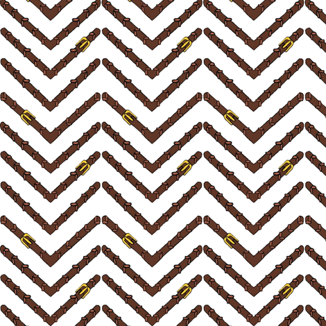 Herringbone Reins fabric by ragan on Spoonflower - custom fabric