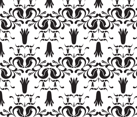 Art Deco fabric by larako on Spoonflower - custom fabric