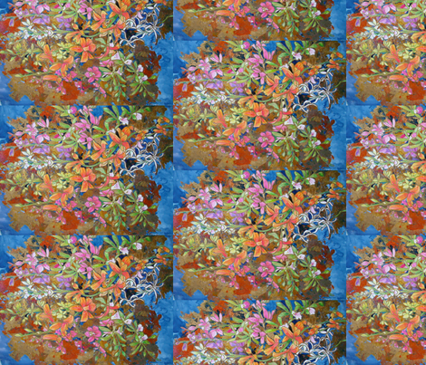 Orchid Heaven fabric by magicalumbrella on Spoonflower - custom fabric