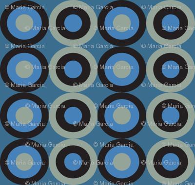blue snake small circles