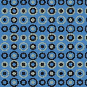 blue snake circles varied