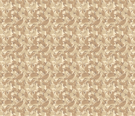 Sixth Scale British 4 Color Desert DPM fabric by ricraynor on Spoonflower - custom fabric