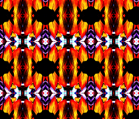Canna Jazz fabric by magicalumbrella on Spoonflower - custom fabric