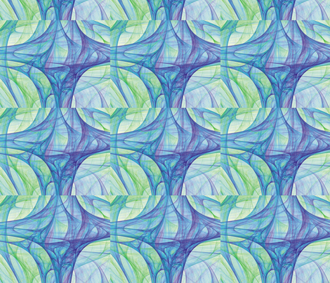Cosmic Web 1 fabric by animotaxis on Spoonflower - custom fabric