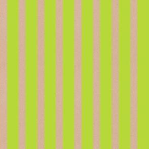 Heart Motif stripes green