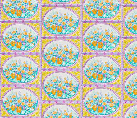 Dutch Cabinet 1. fabric by magicalumbrella on Spoonflower - custom fabric