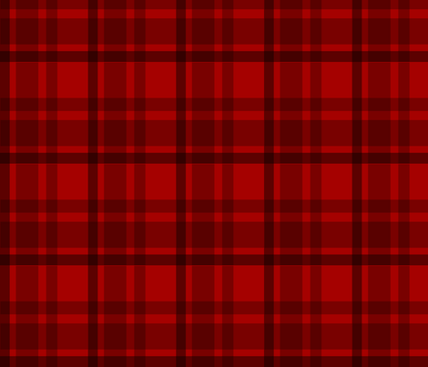Doctor Who 6th Dr Colin Baker Tartan fabric by warmcanofcoke on Spoonflower - custom fabric