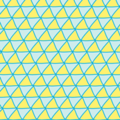 Triangles Blue &amp; Yellow