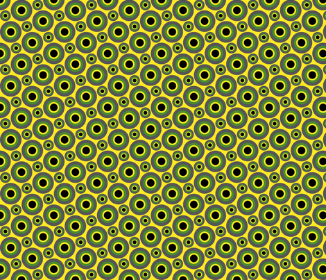 Dot Your Eyes fabric by sugarxvice on Spoonflower - custom fabric