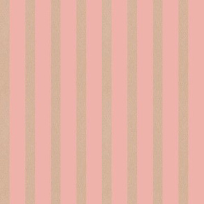 Heart Motif stripes pink