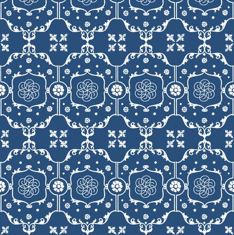 Shabby Frame in Royal Indigo Blue