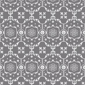 Shabby Frame in Steel Gray