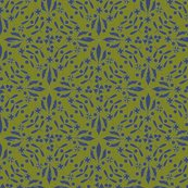 Leaves_and_berries_by_4_twist_blue_olive_canvas_shop_thumb