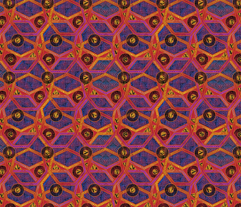 seven fabric by glimmericks on Spoonflower - custom fabric