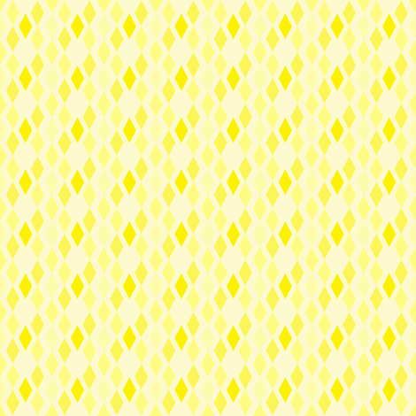Yellow Diamonds fabric by mahrial on Spoonflower - custom fabric