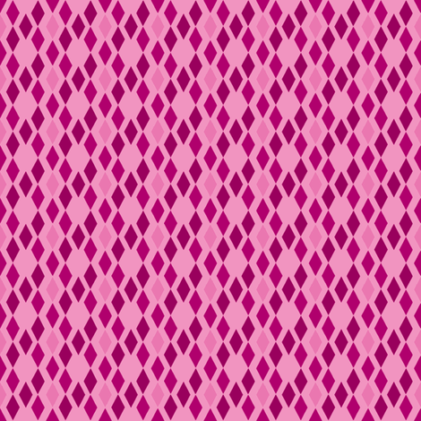 Pink Diamonds fabric by mahrial on Spoonflower - custom fabric