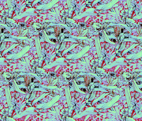 Florida lawn 3. fabric by magicalumbrella on Spoonflower - custom fabric