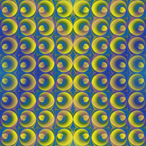 solar flare fabric by y-knot_designs on Spoonflower - custom fabric