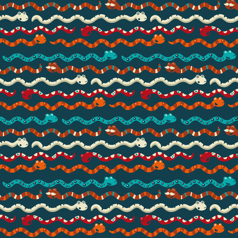 Stripes in Slisssss fabric by verycherry on Spoonflower - custom fabric