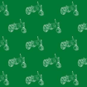 John Deere in Green