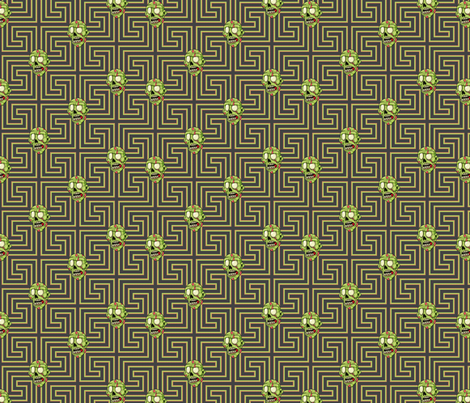 Mr. Green fabric by sugarxvice on Spoonflower - custom fabric