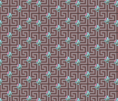 Mr. Blue fabric by sugarxvice on Spoonflower - custom fabric