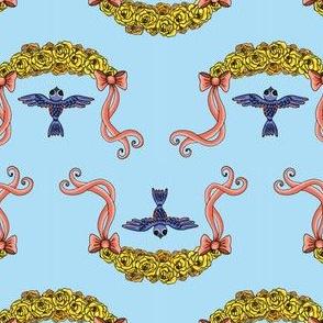 swallows & ribbons
