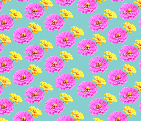 Three's a Crowd fabric by pond_ripple on Spoonflower - custom fabric