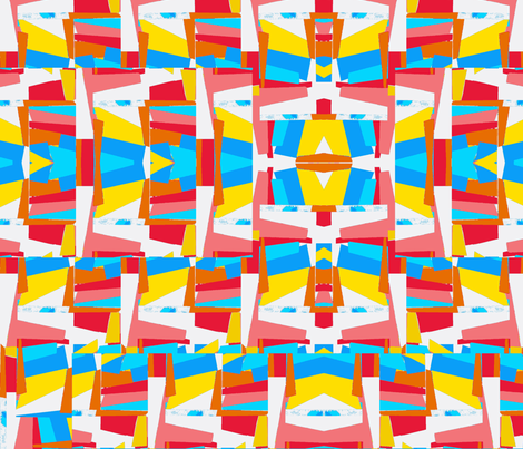Gonna Be a Bright Sunshiny Day fabric by bettinablue_designs on Spoonflower - custom fabric