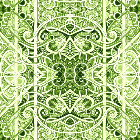 Look Into My Microscope fabric by edsel2084 on Spoonflower - custom fabric