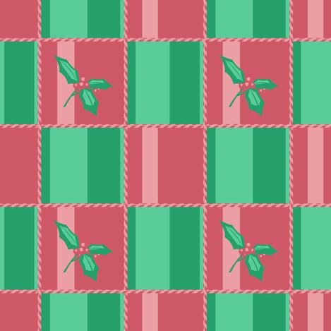 Holly fabric by bubblequartz on Spoonflower - custom fabric