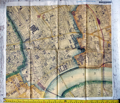 London Vintage Map